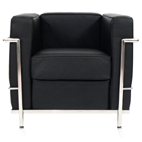 le corbusier lc2 armchair. Black Bedroom Furniture Sets. Home Design Ideas
