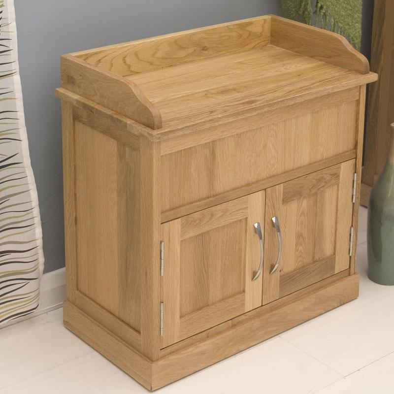 Mobel oak shoe bench - Furnitive mobel ...