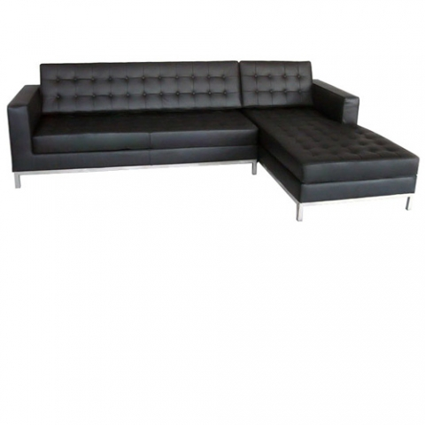 knoll chaise sofa. Black Bedroom Furniture Sets. Home Design Ideas