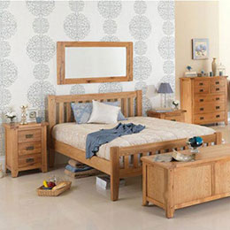 Cherbourg Oak Bedroom Furniture