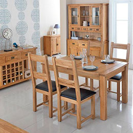 Cherbourg Oak Living & Dining
