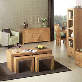 Cuba Cube Oak Furniture