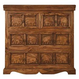 Indian furniture  Jali, Thacket & Sikar Sheesham Wood  Asia Dragon