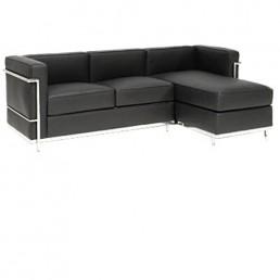 Le Corbusier LC2 Chaise Sofa