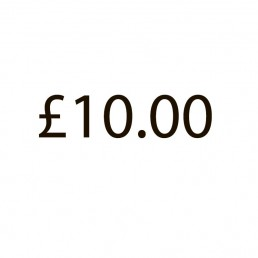 Additional Charge - £10.00