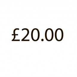 Additional Charge - £20.00
