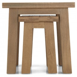 Alamo Rough Sawn Nest Of 2 Tables