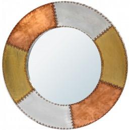 Aluminium Copper Mirror Round