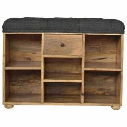 Artisan Shoe Storage Bench