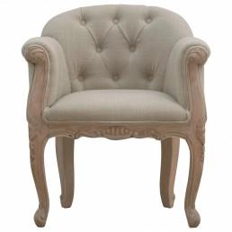 Artisan Linen Accent Chair