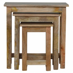 Artisan Country Stool Set of 3