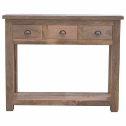 Artisan Console Table with 3 Drawers