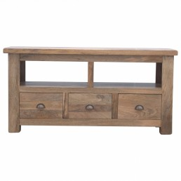 Artisan 3 Drawer Media Unit