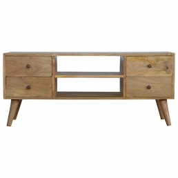 Artisan 4 Drawers Media Unit