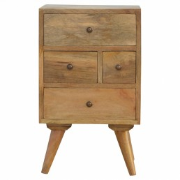 Artisan 4 Drawer Multi Bedside