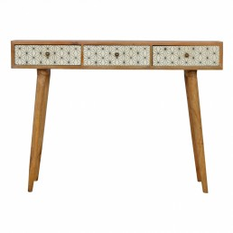 Artisan 3 Drawer Writing Desk