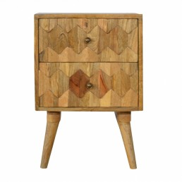 Artisan 2 Drawer Bedside
