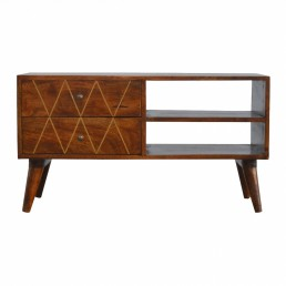 Artisan 2 Drawers Media Unit