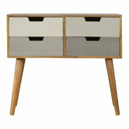 Artisan 4 Drawer Console Table