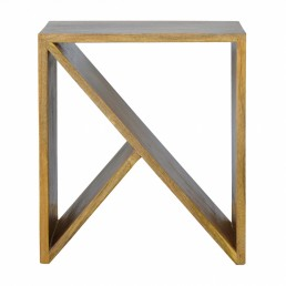 Artisan Geometric Side Table