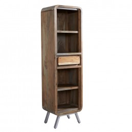 Aspen Tall Narrow Bookcase