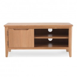 Björn Oak Small TV Unit