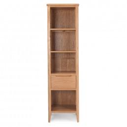 Björn Oak Slim Bookcase