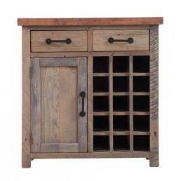 Reclaimed Wood Wine Table