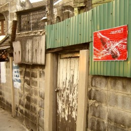 Canvas Bangkok Slum 2 Print
