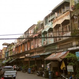 Canvas Bangkok Slum 5 Print
