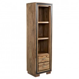 Castalla Sheesham Slim Bookcase