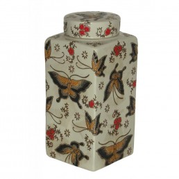 Chinese Large Butterfly Caddy