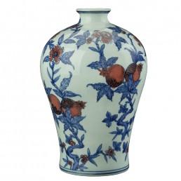 Chinese Zhu Fu Vase