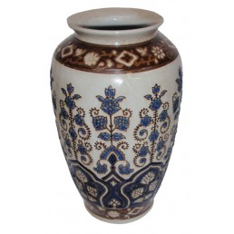 Chinese Vase Floral Motifs