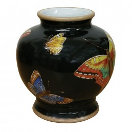 Chinese Butterfly Vase