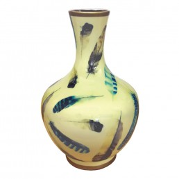 Chinese Feather Vase