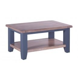 Chalk Downpipe Oak Coffee Table