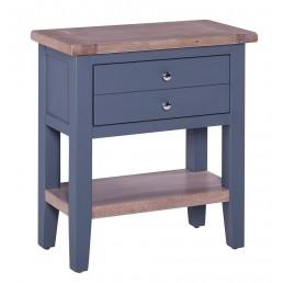 Chalk Downpipe Oak Console Table