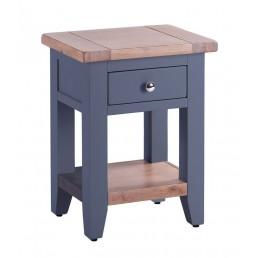 Chalk Downpipe Oak Bedside Table