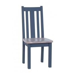 Chalk Downpipe Oak Dining Chair