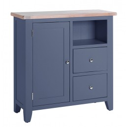 Chalk Downpipe Oak Cabinet