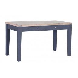Chalk Downpipe Oak Cafe Table