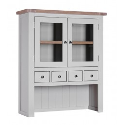 Chalk Grey Oak Hutch
