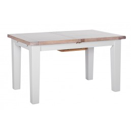 Chalk Grey Oak Dining Table
