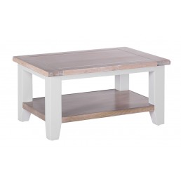 Chalk Grey Oak Coffee Table