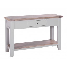 Chalk Grey Oak Hall Table