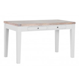 Chalk Grey Oak Cafe Table