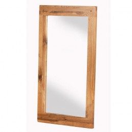Cherbourg Oak Wall Mirror