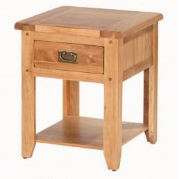 Cherbourg Oak Bedside - End Table