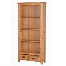 Cherbourg Oak Tall Bookcase